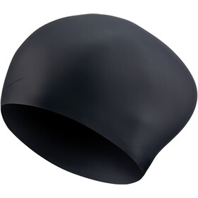 Nike Swim Solid Long Hair Silicone Cap black